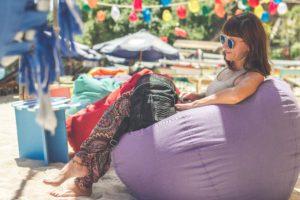Djevojka, festival, influencer
